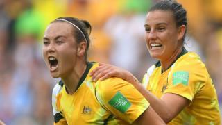 Australia score
