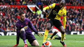 David de Gea and Abdoulaye Doucoure