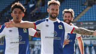 Blackburn goal