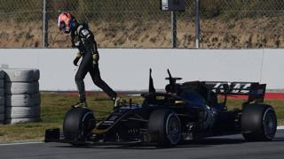 Grosjean red flag