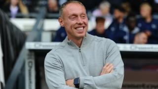 Swansea City manager Steve Cooper