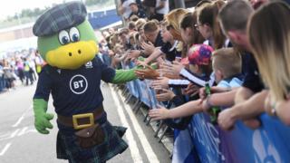 scotland mascot