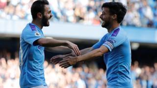Manchester City's Bernardo Silva