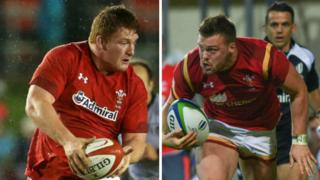 Rhys Carre and Owen Lane have come through Wales' age-group teams