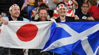 Japan v Scotland