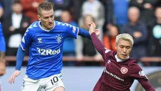 Hearts v Rangers