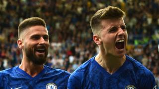 Mason Mount and Olivier Giroud