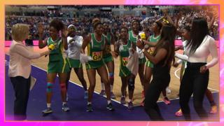 Zimbabwe netballers gatecrash BBC TV coverage
