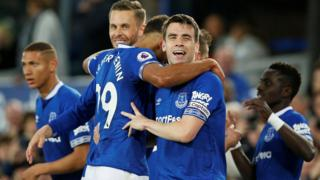 Everton's Seamus Coleman