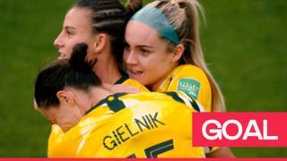 Australia equalise through Logarzo