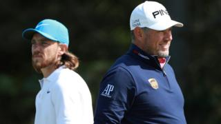 Tommy Fleetwood and Lee Westwood