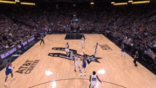 Curry lands incredible long-range buzzer beater