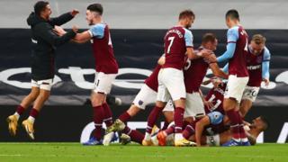West Ham celebrate