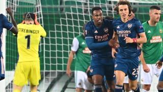 Rapid Vienna v Arsenal