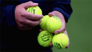 Wimbledon balls