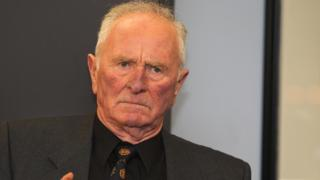 Former Manchester United and Northern Ireland goalkeeper Harry Gregg