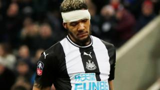 "Newcastle United""s Joelinton"