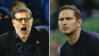Slaven Bilic and Frank Lampard