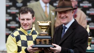 Jockey Paul Townend and trainer Willie Mullins