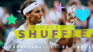 Rafa Nadal celebrates