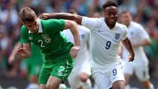 England v Republic of Ireland