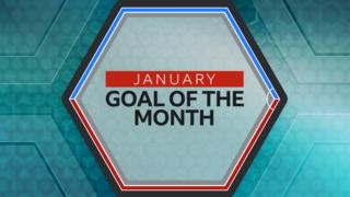Match of the Day January Goal of the Month