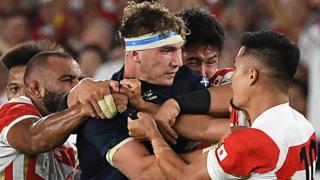 Scotland against Japan