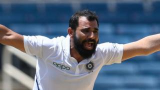 India bowler Mohammed Shami