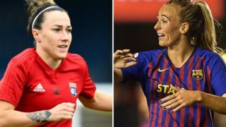 Lucy Bronze and Toni Duggan