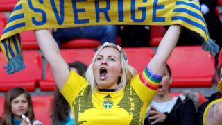 A Sweden fan