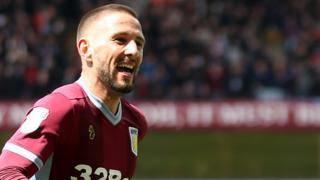 Aston Villa goalscorer Conor Hourihane
