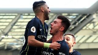 Riyad Mahrez, Aymeric Laporte, Manchester City