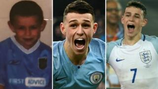 Phil Foden has gone from being a ball boy at Manchester City to playing for Pep Guardiola's side