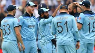 Moeen Ali celebrates his wicket