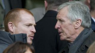 Neil Lennon and Billy McNeill