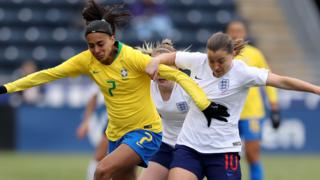 England's Fran Kirby