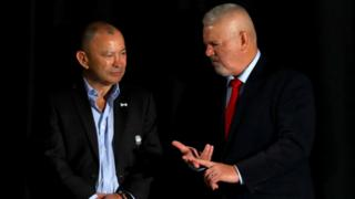 Eddie Jones and Warren Gatland