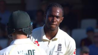 Jofra Archer and Matthew Wade
