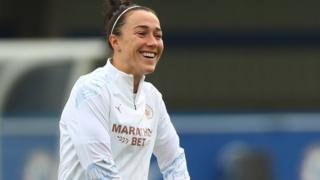 Manchester City defender Lucy Bronze