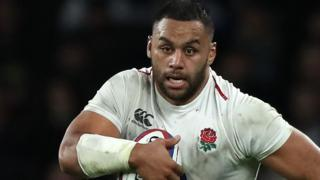 England number eight Billy Vunipola