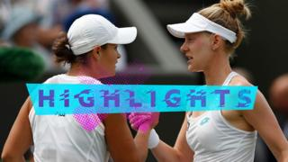 Ashleigh Barty and Alison Riske