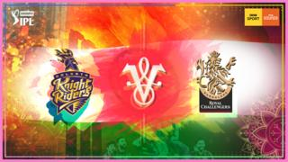 Kolkata Knight Riders v Royal Challengers Bangalore