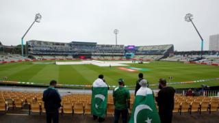 Pakistan fans at Edgbaston