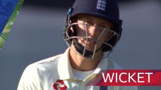 Joe Root wicket