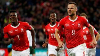 Switzerland celebrate
