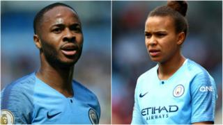 Raheem Sterling and Nikita Parris