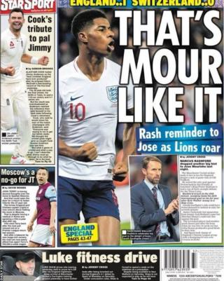 Wednesday's Daily Star