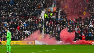 Flare at Tynecastle