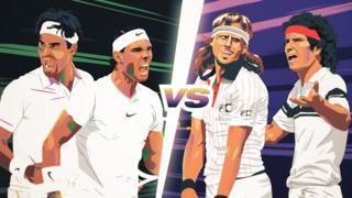 Federer Nadal or Borg McEnroe