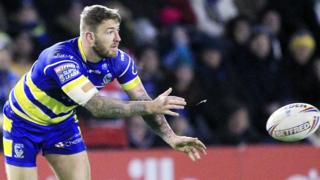 Warrington's Daryl Clark